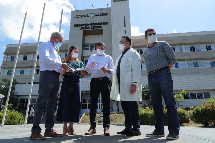 Governador Wilson Lima anuncia reforma do Hospital e Pronto-Socorro João Lúcio