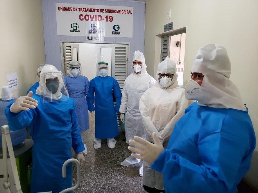 Governo do Amazonas entrega respiradores e equipamentos para leitos de UCI em Boca do Acre