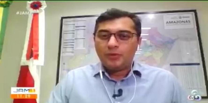 Wilson Lima reforça necessidade de isolamento e diz que momento  é de união de esforços para combater o Covid-19