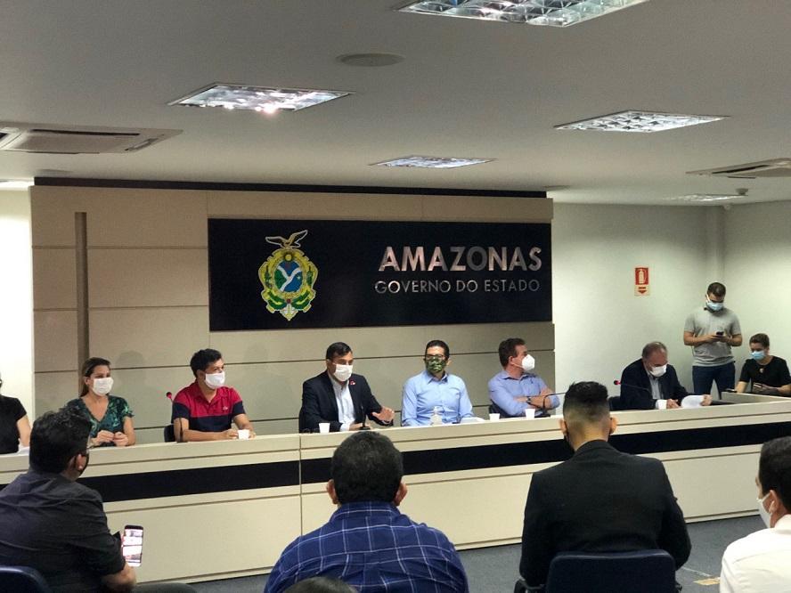 Governo do Amazonas divulga plano de reabertura com regras de distanciamento, higiene, comunicação e monitoramento