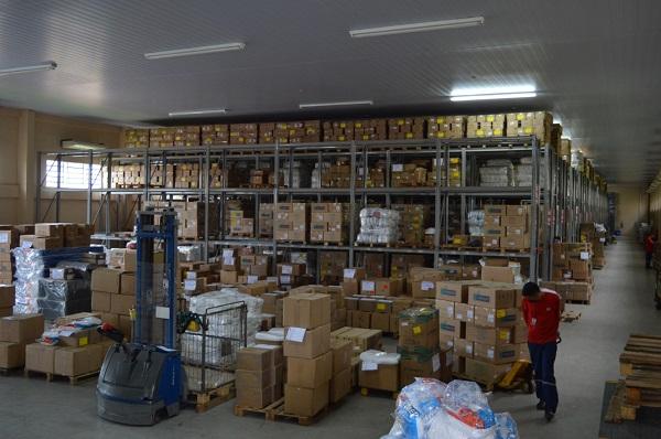 Susam recebe doação de 7 mil itens de rouparia hospitalar da empresa de embalagens Ball