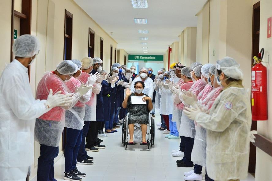 Covid-19: Hospital Delphina Aziz atinge a marca de 829 altas médicas