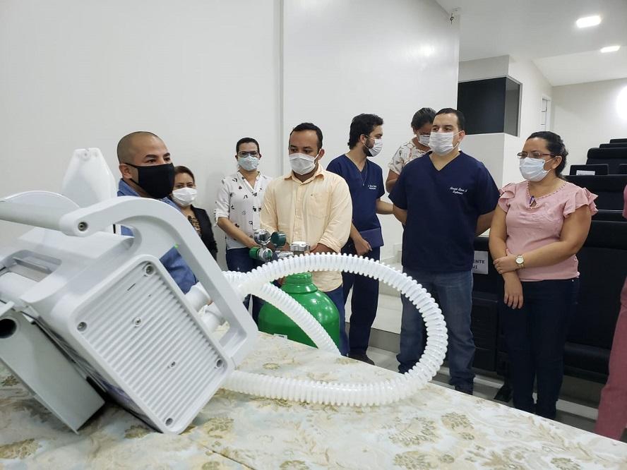 Susam entrega respiradores e capacita profissionais de saúde do interior para uso dos equipamentos