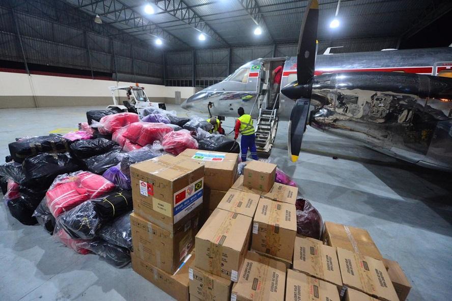 Susam recebe doação de respiradores e aventais da Fundação Itaú e das empresas Eneva e Lav Clean