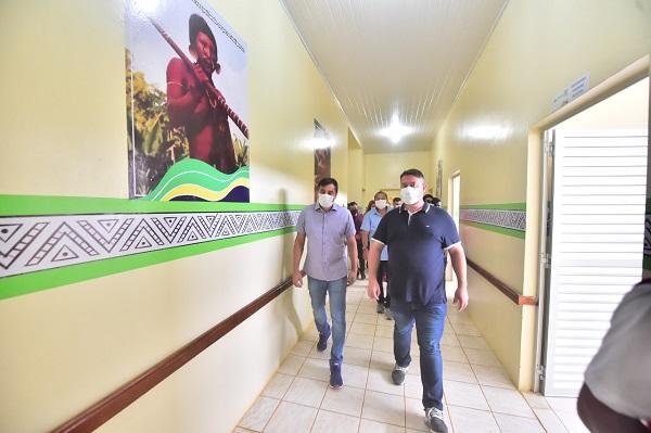 Governador Wilson Lima inaugura ala hospitalar para atender pacientes indígenas em Atalaia do Norte