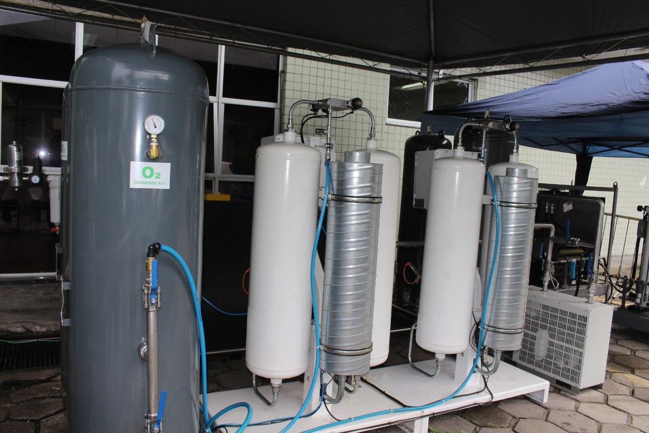 Usinas de oxigênio auxiliam abastecimento do insumo no Instituto da Criança e SPA da Redenção