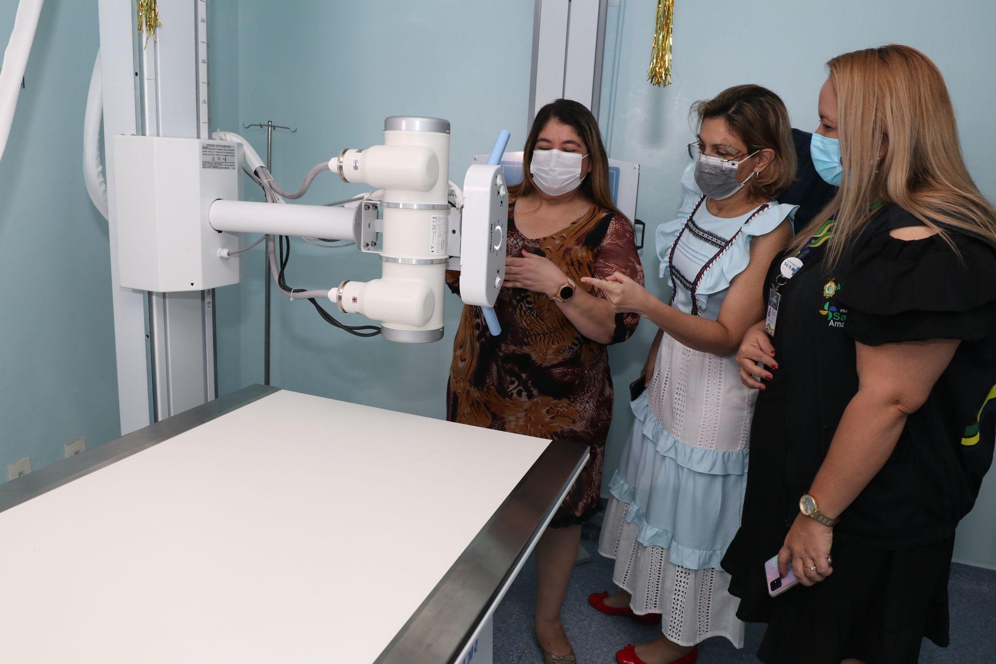 Governo do Amazonas instala miniusina e entrega aparelho de raio-X digital para otimização dos serviços no Icam