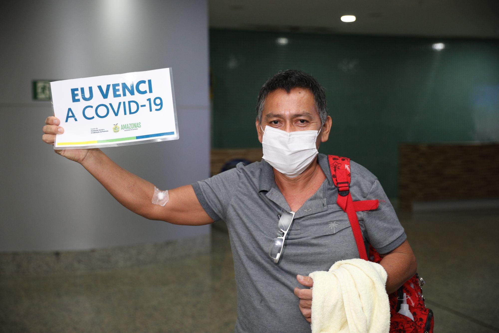 Recomeço: mais dois pacientes recuperados da Covid-19 retornam a Manaus, após tratamento no Rio Grande do Norte