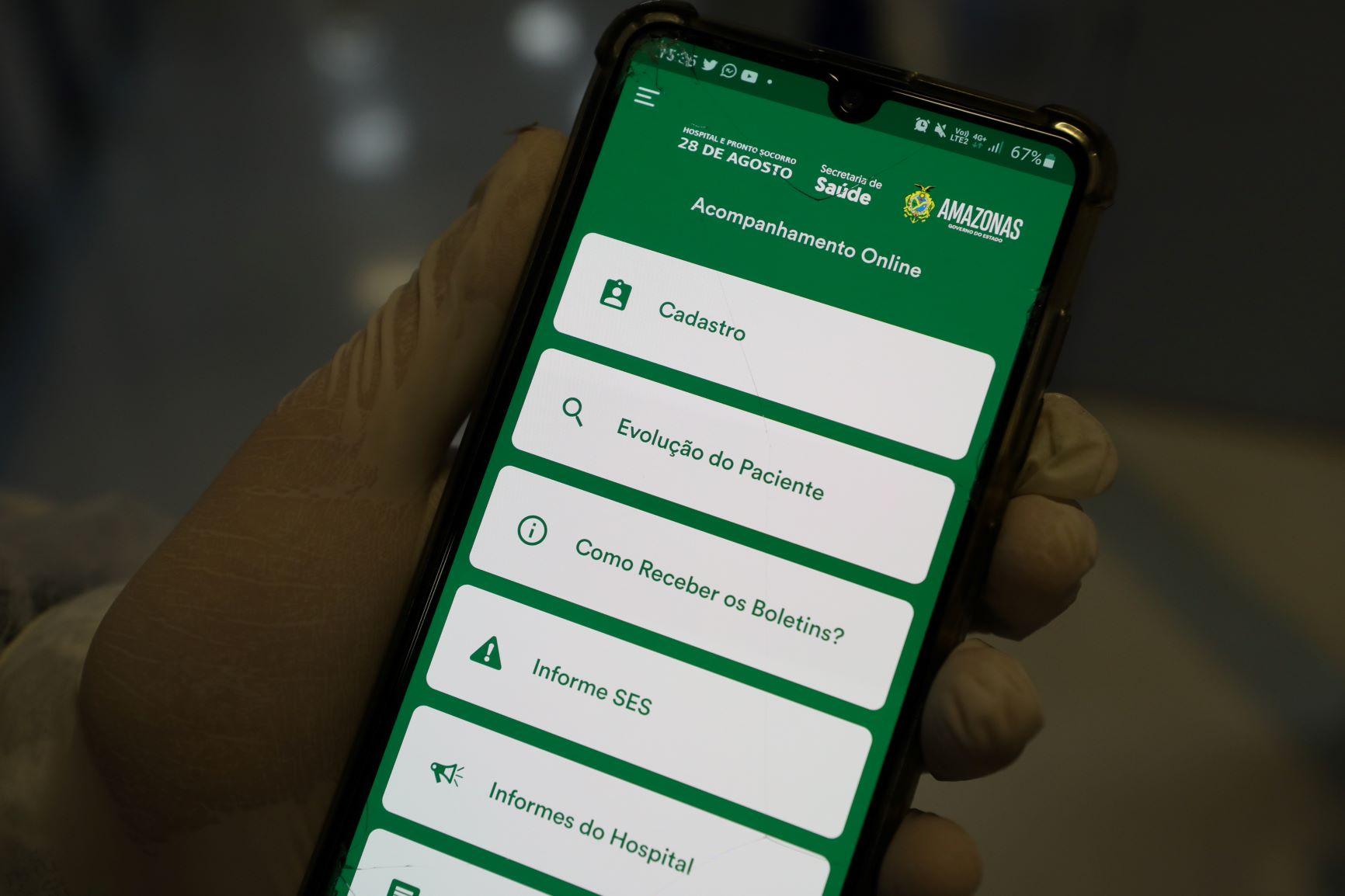 Profissionais de saúde do HPS 28 de Agosto recebem treinamento para uso de aplicativo