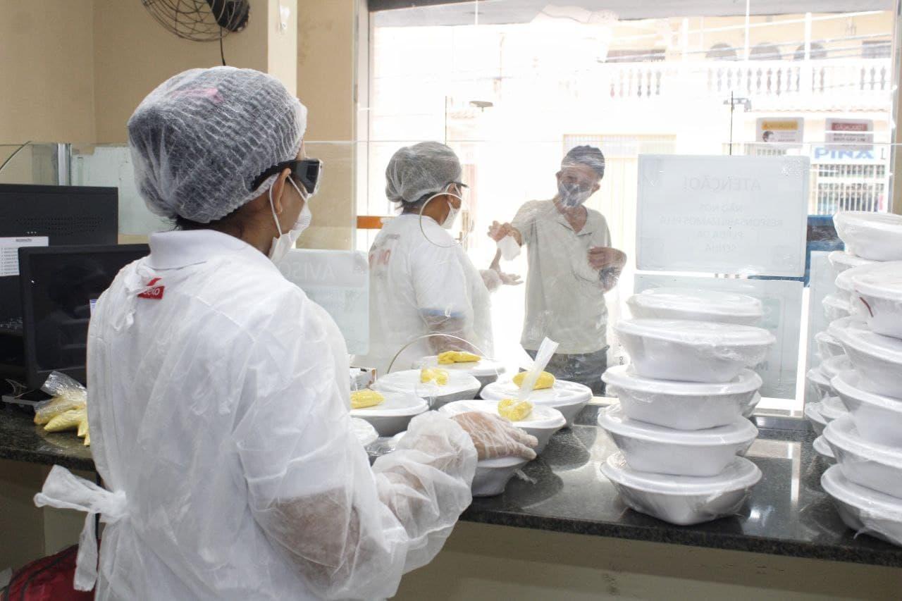 Governo mantém funcionamento de Restaurantes e Cozinhas populares para atender pessoas em situação de vulnerabilidade
