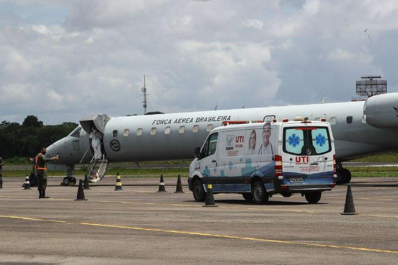 Esperança: mais 13 pacientes são transferidos para o Rio de Janeiro