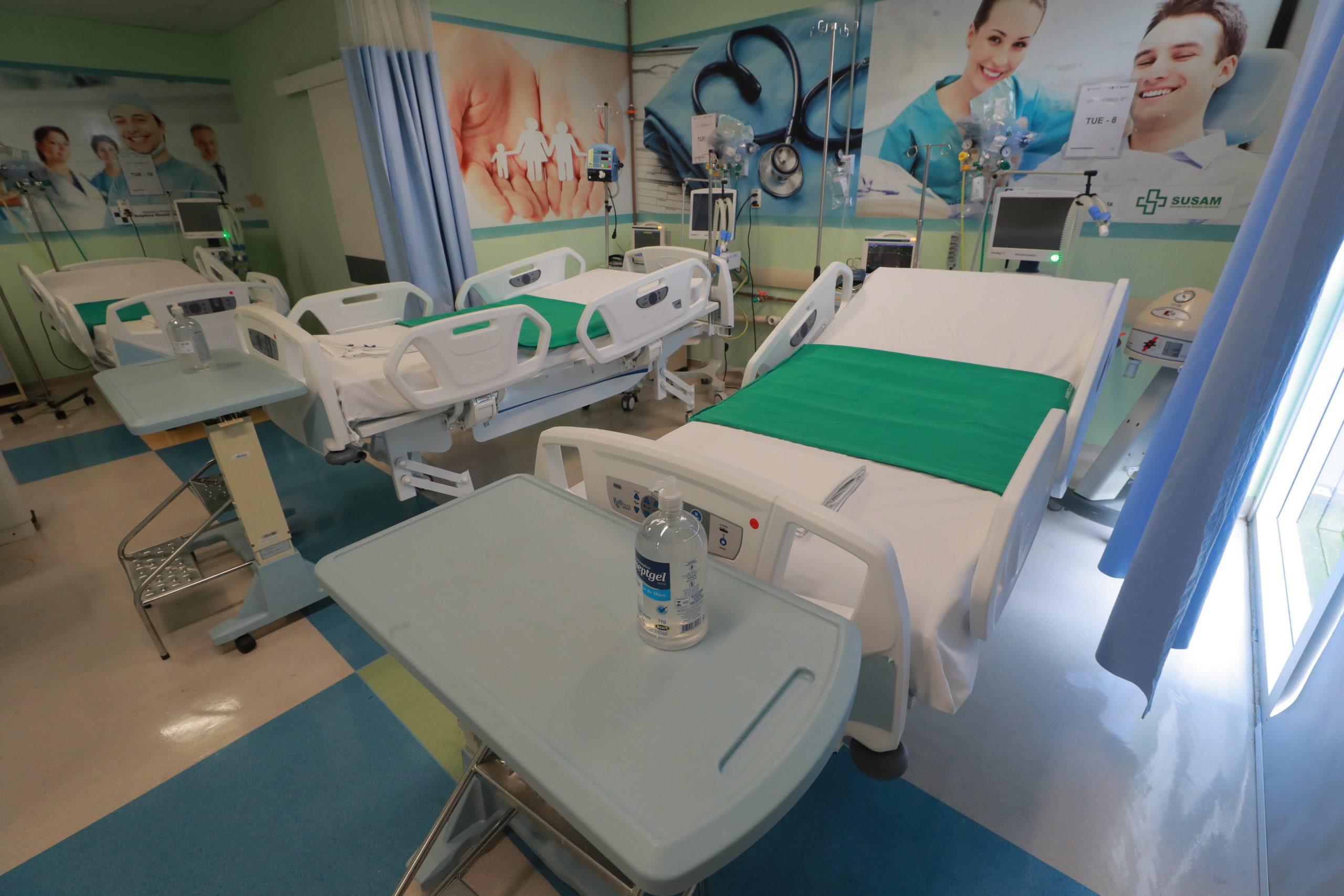 Governo do Amazonas abre mais 10 leitos de UTI no Hospital Delphina Aziz