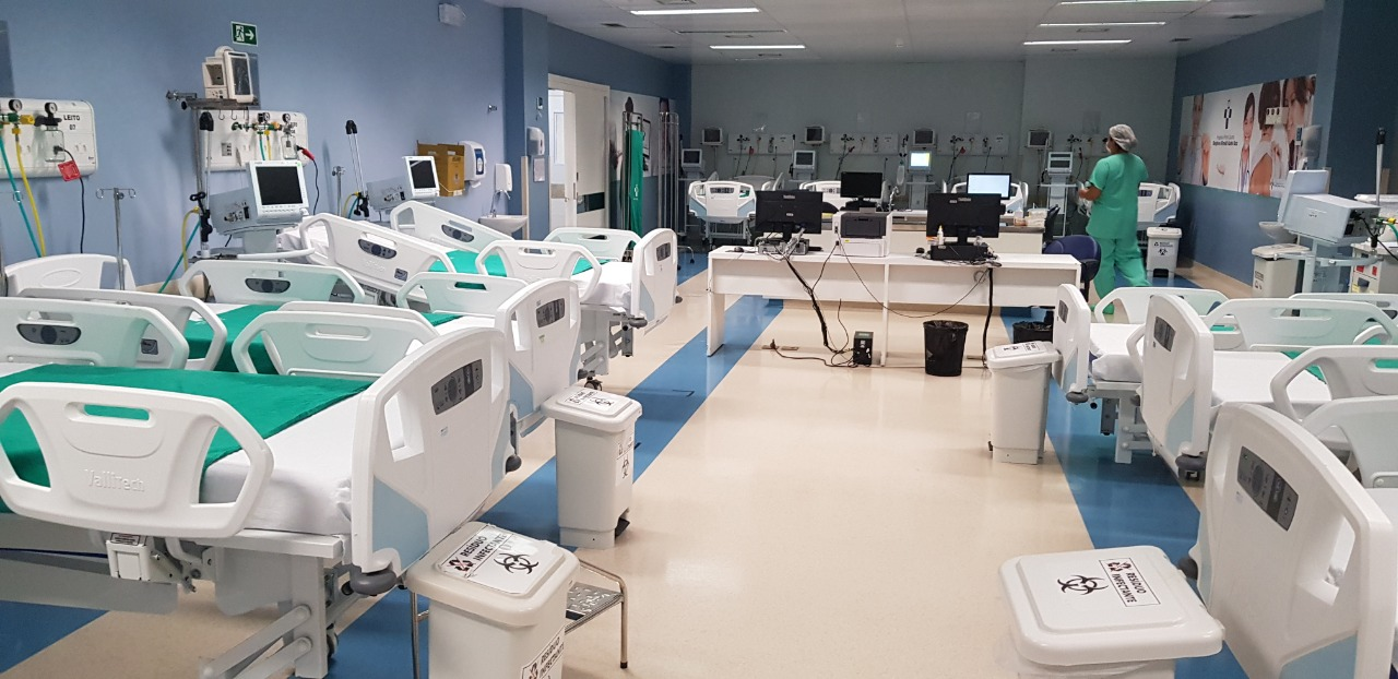 Hospital Delphina Aziz abre mais dez leitos de UTI