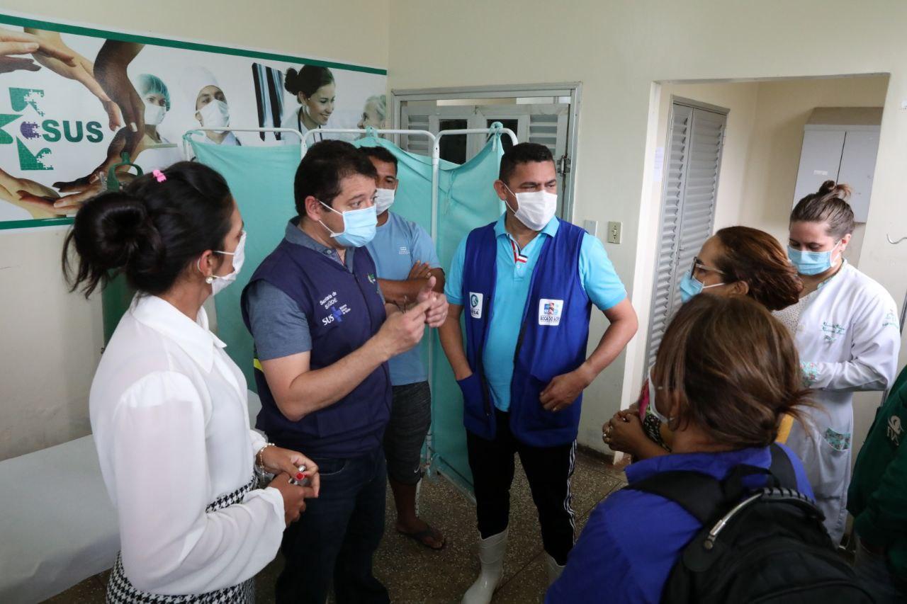 SES-AM entrega oxímetros e concentradores de oxigênio em Boca do Acre