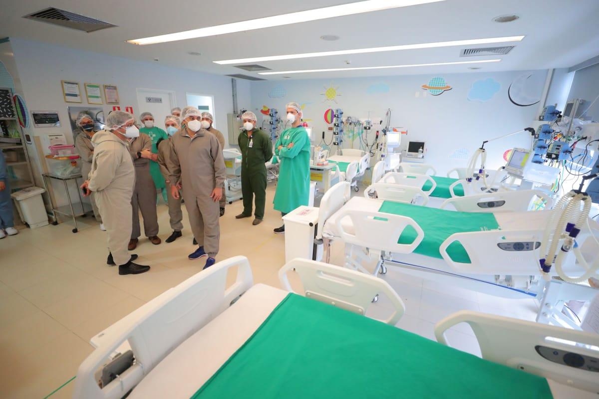 Delphina Aziz é o 3º maior hospital do Brasil em oferta leitos de UTI para pacientes com Covid-19